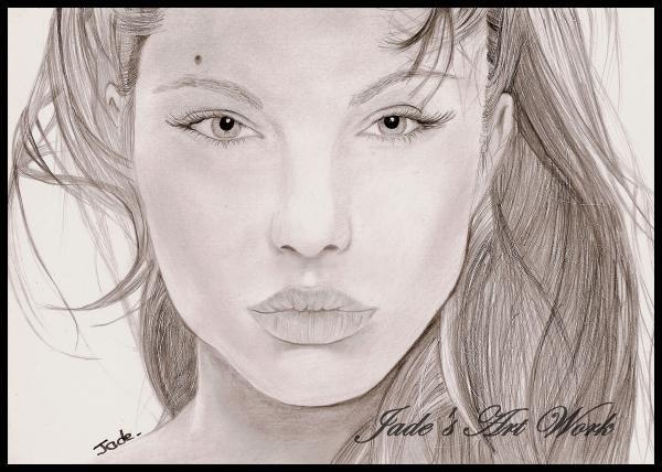 Angelina Jolie by JadesArtWork